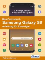 Das Praxisbuch Samsung Galaxy S8 - Anleitung für Einsteiger