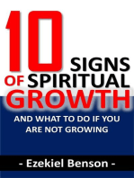 10 Signs of Spiritual Growth and What to do if you are not Growing