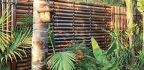 If You Like A Tropical-, Balinese- Or Resort-style Look, Black Bamboo Screening Is For You