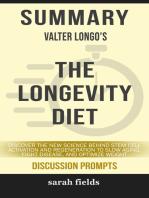 Summary of The Longevity Diet