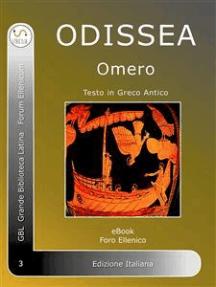 Odissea: Odissea di Omero in Greco Antico