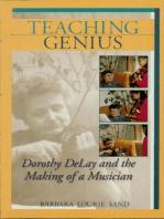 Teaching Genius