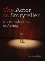 The Actor as Storyteller