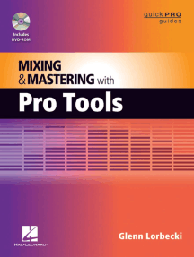 Mixing and Mastering with Pro Tools