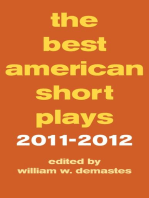 The Best American Short Plays 2011-2012