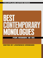 Best Contemporary Monologues for Women 18-35