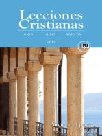 Lecciones Cristianas libro del alumno trimestre de verano 2019: Summer 2019 Student Book