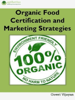 Organic Food Certification and Marketing Strategies