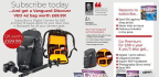 Subscribe Today …And Get A Vanguard Discover VEO 42 Bag Worth £69.99!