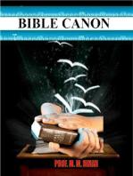 Bible Canon