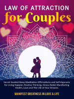 Law of Attraction for Couples Secret Guided Sleep Meditation Affirmations and Self-Hypnosis for Living Happier, Positive Thinking, Stress Relief, Manifesting Health, Love and The Life of Your Dreams