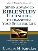 7 Advanced Bible Study Techniques to Transform Your Spiritual Life