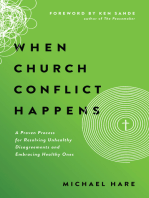 When Church Conflict Happens