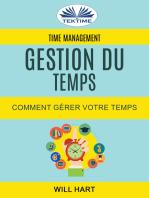 Time Management: Gestion Du Temps : Comment Gérer Votre Temps