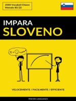 Impara lo Sloveno