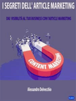 I Segreti dell'Article Marketing