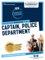 Captain, Police Department