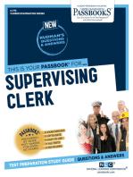 Supervising Clerk