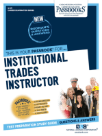 Institutional Trades Instructor
