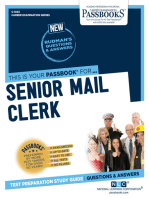 Senior Mail Clerk