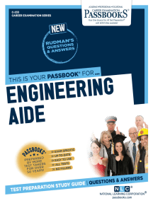 Engineering Aide: Passbooks Study Guide