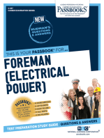Foreman (Electrical Power)