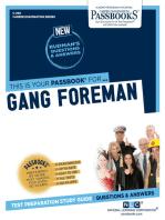 Gang Foreman