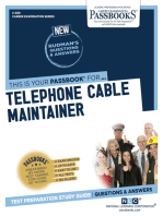 Telephone Cable Maintainer