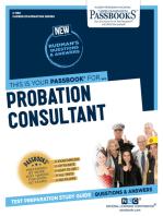 Probation Consultant