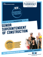 Senior Superintendent of Construction