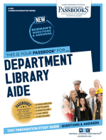 Department Library Aide