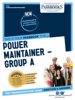 Power Maintainer – Group A