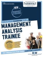 Management Analysis Trainee