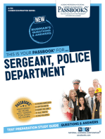 Sergeant, Police Department