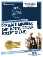 Portable Engineer (Any Motive Power Except Steam)