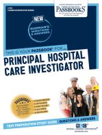 Principal Hospital Care Investigator