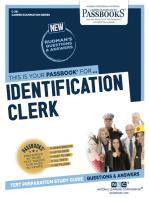 Identification Clerk