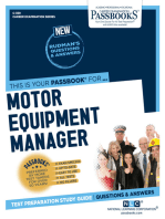 Motor Equipment Manager
