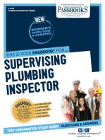 Supervising Plumbing Inspector