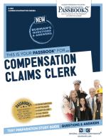 Compensation Claims Clerk