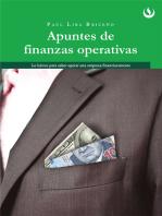 Apuntes de Finanzas Operativas