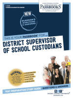 District Supervisor of School Custodians