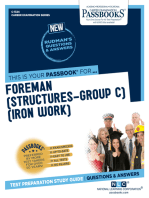 Foreman (Structures-Group C) (Iron Work)