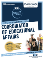 Coordinator of Educational Affairs