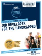 Job Developer for the Handicapped