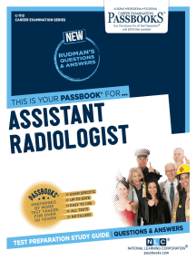 Assistant Radiologist: Passbooks Study Guide
