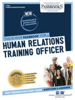 Human Relations Training Officer