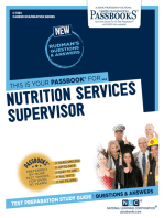 Nutrition Services Supervisor
