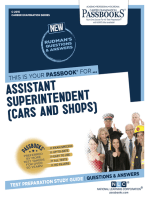 Assistant Superintendent (Cars and Shops)