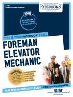 Foreman Elevator Mechanic